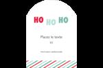 « Ho Ho Ho » Étiquettes rectangulaires - gabarit prédéfini. <br/>Utilisez notre logiciel Avery Design & Print Online pour personnaliser facilement la conception.