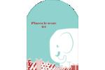 Les gabarits Éléphant blanc pour votre prochain projet des Fêtes Étiquettes rectangulaires - gabarit prédéfini. <br/>Utilisez notre logiciel Avery Design & Print Online pour personnaliser facilement la conception.