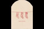 Bas de Noël suspendus Étiquettes rectangulaires - gabarit prédéfini. <br/>Utilisez notre logiciel Avery Design & Print Online pour personnaliser facilement la conception.