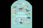 Joyeuses bêtes Étiquettes rectangulaires - gabarit prédéfini. <br/>Utilisez notre logiciel Avery Design & Print Online pour personnaliser facilement la conception.