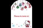 Hello Kitty Fêtes Étiquettes rectangulaires - gabarit prédéfini. <br/>Utilisez notre logiciel Avery Design & Print Online pour personnaliser facilement la conception.
