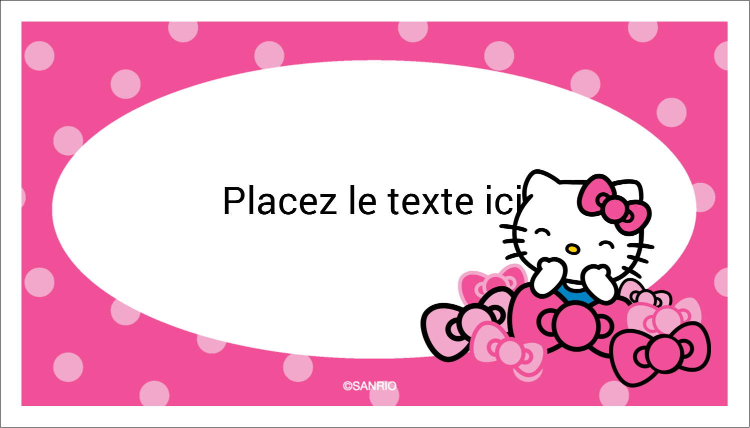 "3"" x 5"" Cartes Pour Le Bureau - Hello Kitty rigole"