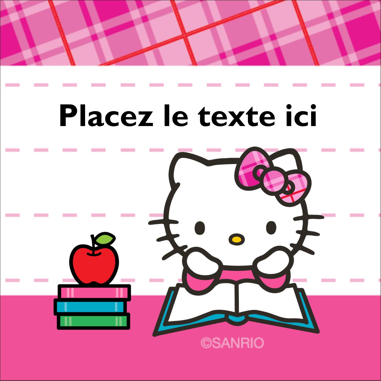"""2"""" x 2"""" Étiquettes carrées - Temps d'étudier"""