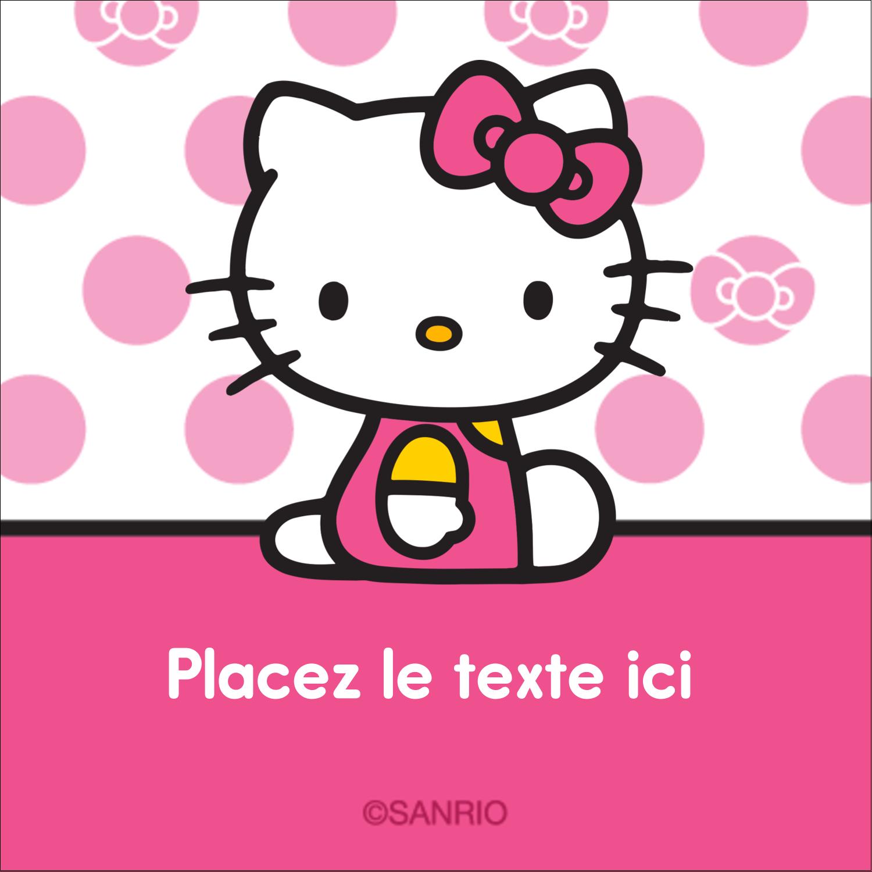 """2"""" x 2"""" Étiquettes carrées - Jolie en rose"""