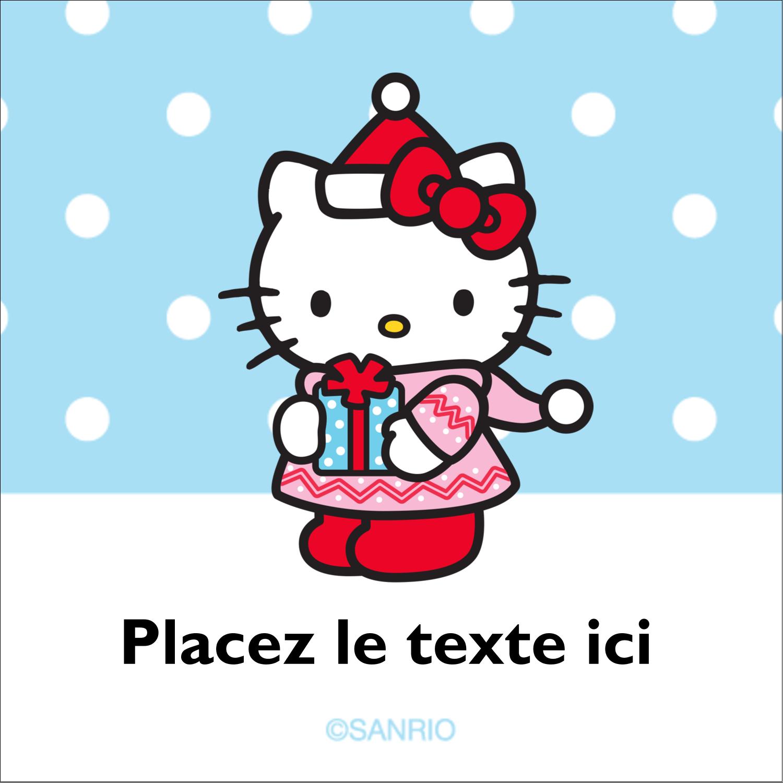 """2"""" x 2"""" Étiquettes carrées - Petit Cadeau, Big Smile®"""