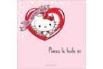Hello Kitty Saint-Valentin Étiquettes carrées - gabarit prédéfini. <br/>Utilisez notre logiciel Avery Design & Print Online pour personnaliser facilement la conception.