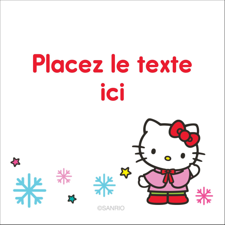 """2"""" Diameter Étiquettes rondes - Hello Kitty Fêtes"""