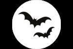 Prime d'Halloween Étiquettes rondes - gabarit prédéfini. <br/>Utilisez notre logiciel Avery Design & Print Online pour personnaliser facilement la conception.