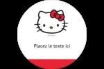 Bonjour Ami! Étiquettes rondes - gabarit prédéfini. <br/>Utilisez notre logiciel Avery Design & Print Online pour personnaliser facilement la conception.