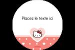 Nous aimons Hello Kitty Étiquettes rondes - gabarit prédéfini. <br/>Utilisez notre logiciel Avery Design & Print Online pour personnaliser facilement la conception.