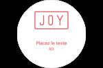 Calque de texte minimaliste Étiquettes de classement - gabarit prédéfini. <br/>Utilisez notre logiciel Avery Design & Print Online pour personnaliser facilement la conception.
