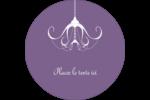 Chandelier macabre élégant d'Halloween Étiquettes de classement - gabarit prédéfini. <br/>Utilisez notre logiciel Avery Design & Print Online pour personnaliser facilement la conception.