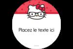 Votre Ami Hello Kitty Étiquettes de classement - gabarit prédéfini. <br/>Utilisez notre logiciel Avery Design & Print Online pour personnaliser facilement la conception.