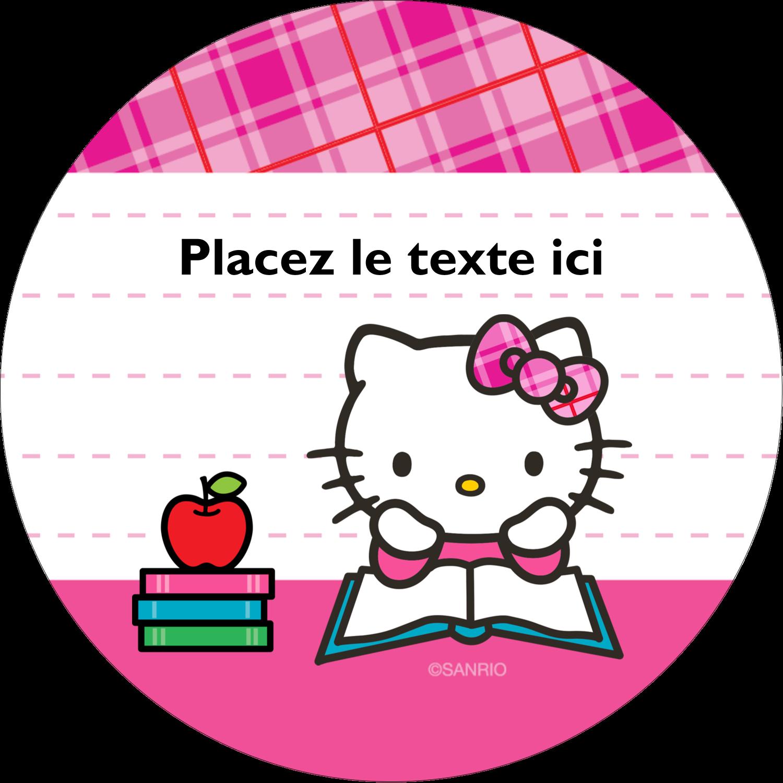 """3-7/16"""" x 15/16"""" Étiquettes de classement - Temps d'étudier"""