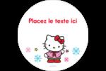 Hello Kitty Fêtes Étiquettes de classement - gabarit prédéfini. <br/>Utilisez notre logiciel Avery Design & Print Online pour personnaliser facilement la conception.