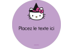 Halloween Hello Kitty Étiquettes de classement - gabarit prédéfini. <br/>Utilisez notre logiciel Avery Design & Print Online pour personnaliser facilement la conception.