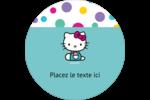 Fête Hello Kitty Étiquettes de classement - gabarit prédéfini. <br/>Utilisez notre logiciel Avery Design & Print Online pour personnaliser facilement la conception.