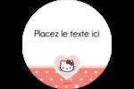 Nous aimons Hello Kitty Étiquettes de classement - gabarit prédéfini. <br/>Utilisez notre logiciel Avery Design & Print Online pour personnaliser facilement la conception.