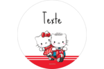 Hello Kitty et Cher Daniel Valentin Étiquettes de classement - gabarit prédéfini. <br/>Utilisez notre logiciel Avery Design & Print Online pour personnaliser facilement la conception.