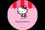 Clin d'œil Hello Kitty Étiquettes de classement - gabarit prédéfini. <br/>Utilisez notre logiciel Avery Design & Print Online pour personnaliser facilement la conception.