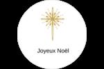 Étoile dorée de Bethléem Étiquettes de classement - gabarit prédéfini. <br/>Utilisez notre logiciel Avery Design & Print Online pour personnaliser facilement la conception.