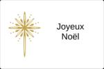 Étoile dorée de Bethléem Étiquettes rectangulaires - gabarit prédéfini. <br/>Utilisez notre logiciel Avery Design & Print Online pour personnaliser facilement la conception.
