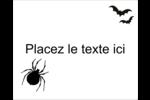 Prime d'Halloween Étiquettes rectangulaires - gabarit prédéfini. <br/>Utilisez notre logiciel Avery Design & Print Online pour personnaliser facilement la conception.