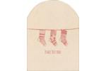 Infuse traditional charm into projects with pre-designed Hanging Stockings templates.