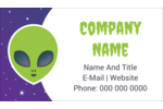 Add frightful fun to custom projects with printable pre-designed Alien Party templates.