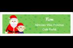 Père Noel et Henri le Lutin Étiquettes d'adresse - gabarit prédéfini. <br/>Utilisez notre logiciel Avery Design & Print Online pour personnaliser facilement la conception.