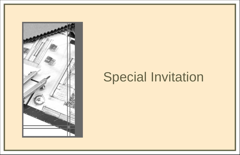 "5½"" x 8½"" Greeting Card - Arch 1"