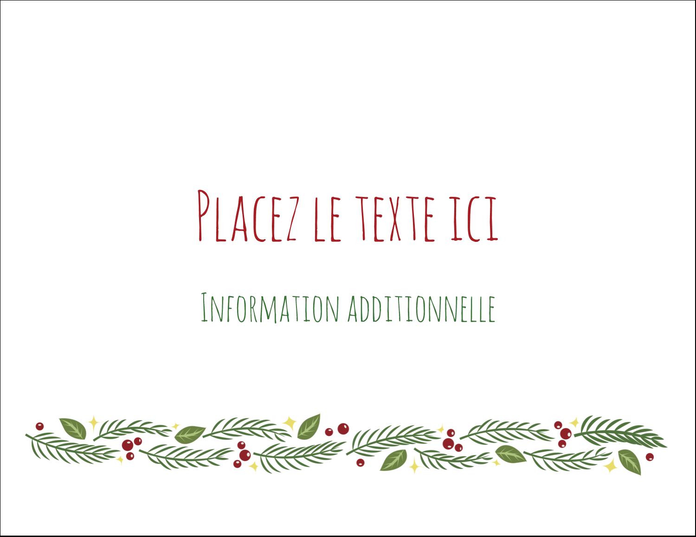 """8½"""" x 11"""" Cartes Et Articles D'Artisanat Imprimables - Les gabarits Guirlande pour votre prochain projet des Fêtes"""