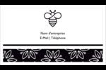 Abeille butineuse Cartes d'affaires - gabarit prédéfini. <br/>Utilisez notre logiciel Avery Design & Print Online pour personnaliser facilement la conception.
