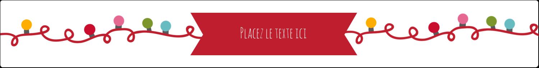 """1½"""" x 2½"""" Étiquettes ovales - Les gabarits Lumières de Noël pour votre prochain projet des Fêtes"""