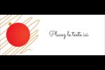 Boules de Noël Affichette - gabarit prédéfini. <br/>Utilisez notre logiciel Avery Design & Print Online pour personnaliser facilement la conception.