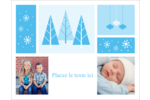 Les gabarits Pays des merveilles hivernales rétro pour votre prochain projet créatif Carte Postale - gabarit prédéfini. <br/>Utilisez notre logiciel Avery Design & Print Online pour personnaliser facilement la conception.