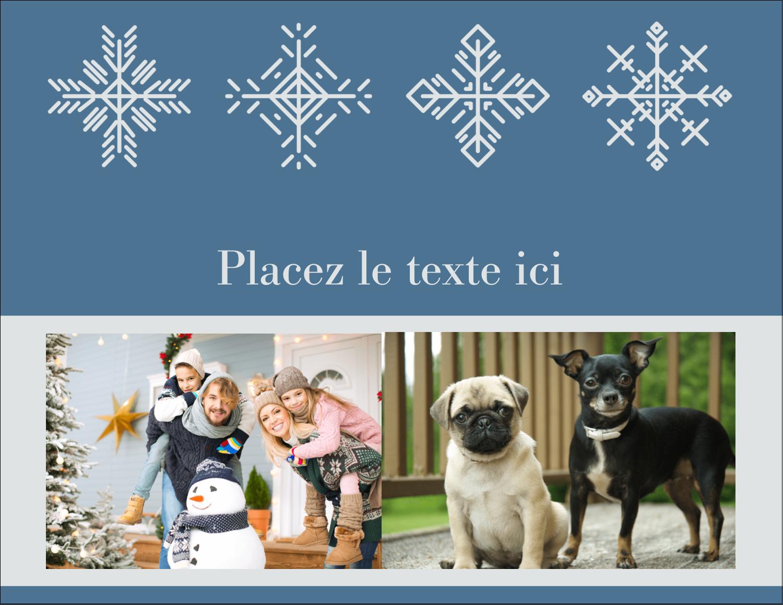 """4¼"""" X 5½"""" Carte Postale - Les gabarits Flocons de neige pour votre prochain projet des Fêtes"""