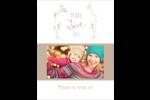 Les gabarits Paix, amour et joie pour votre prochain projet créatif des Fêtes Carte Postale - gabarit prédéfini. <br/>Utilisez notre logiciel Avery Design & Print Online pour personnaliser facilement la conception.