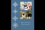 Les gabarits Flocons de neige pour votre prochain projet des Fêtes Carte Postale - gabarit prédéfini. <br/>Utilisez notre logiciel Avery Design & Print Online pour personnaliser facilement la conception.