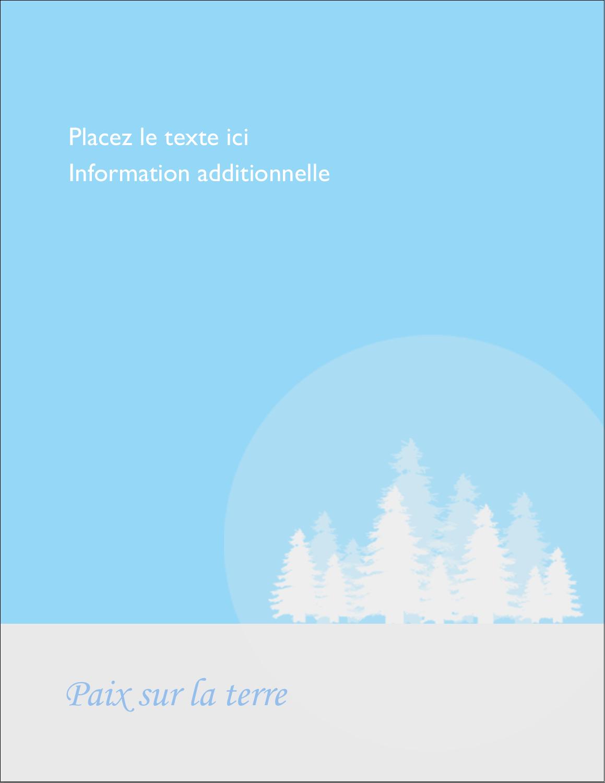 """5½"""" x 4¼"""" Carte Postale - Forêt bleue"""
