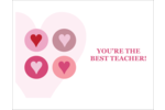 Add a little love to custom projects with pre-designed Circle Hearts templates.