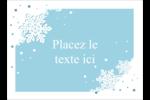 Les gabarits Flocons de neige découpés pour votre prochain projet Étiquettes rectangulaires - gabarit prédéfini. <br/>Utilisez notre logiciel Avery Design & Print Online pour personnaliser facilement la conception.