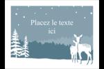 Les gabarits Cerfs en forêt pour votre prochain projet Étiquettes rectangulaires - gabarit prédéfini. <br/>Utilisez notre logiciel Avery Design & Print Online pour personnaliser facilement la conception.