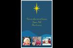 Étoile de Bethléem Reliures - gabarit prédéfini. <br/>Utilisez notre logiciel Avery Design & Print Online pour personnaliser facilement la conception.