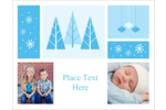 Add classic winter charm to projects with pre-designed Retro Winter Wonderland templates.
