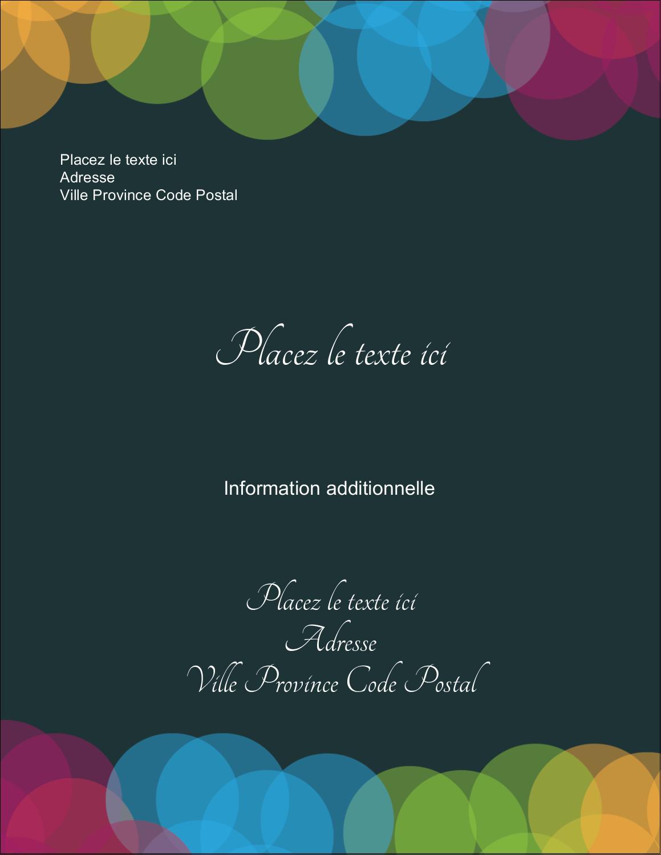 """5½"""" x 4¼"""" Carte Postale - Lumières du Nouvel An"""