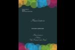 Lumières du Nouvel An  Carte Postale - gabarit prédéfini. <br/>Utilisez notre logiciel Avery Design & Print Online pour personnaliser facilement la conception.