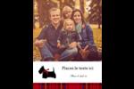Terrier écossais Carte Postale - gabarit prédéfini. <br/>Utilisez notre logiciel Avery Design & Print Online pour personnaliser facilement la conception.