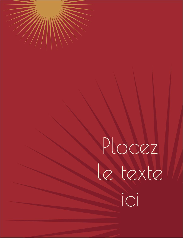 """5½"""" x 4¼"""" Carte Postale - Soleils du Nouvel An"""