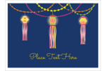 Make custom projects feel more magical with pre-designed Diwali Lanterns templates.